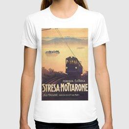 Vintage poster - Stresa-Mottarone T-shirt