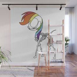PONIES FOREVER Wall Mural