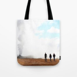 Thermal Silhouettes  Tote Bag