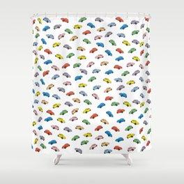 Beetles Shower Curtain