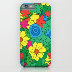 Vector Flowers Slim Case iPhone 6s