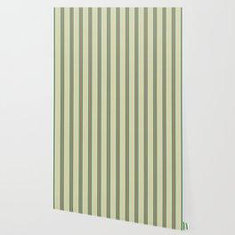 Retro Straight Stripe Wallpaper