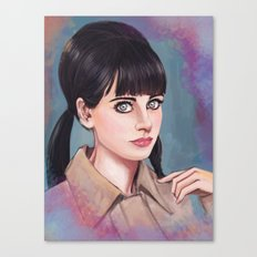 The  New Girl Canvas Print