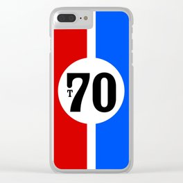 Lola T70 Racing Design Clear iPhone Case