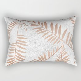 Connection of Marble Copper Rectangular Pillow