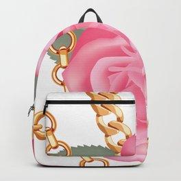 Rose+GoldChains Backpack