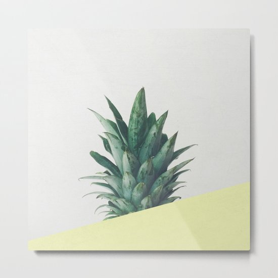 Pineapple Dip III Metal Print