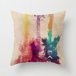 guitars 2 Throw Pillow
