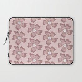 Pretty Pink Flowers Laptop Sleeve