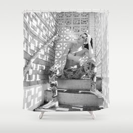Annalise 1 Shower Curtain