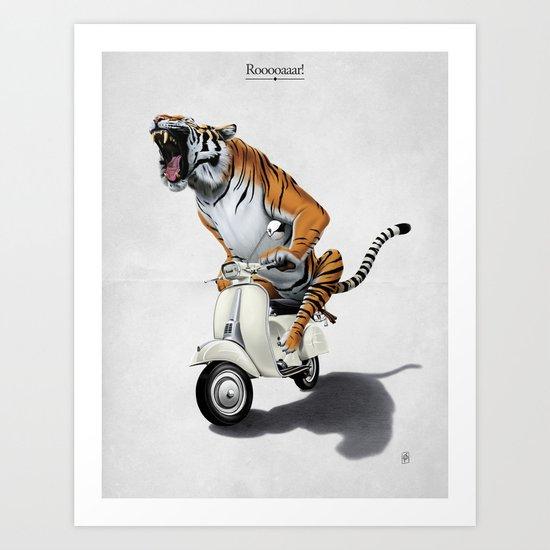 Rooooaaar! Art Print