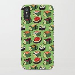 Sushi Avocado iPhone Case