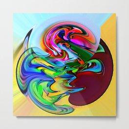 Water art 115 Metal Print