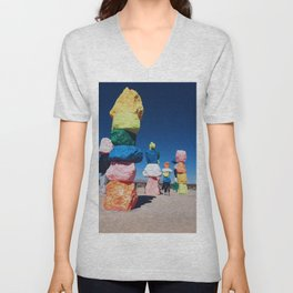 Seven Magic Mountains Unisex V-Neck