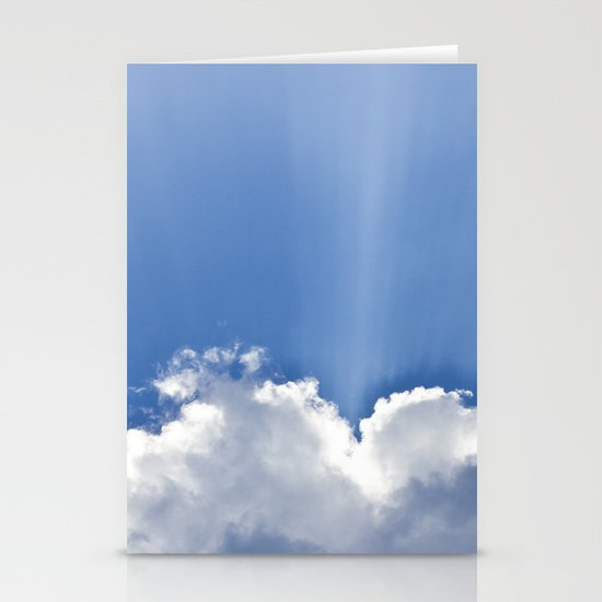 Clouds over Seaside Stationery Cards