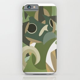 Shapes of Bruce iPhone Case