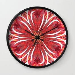 Queensland Spear Lily Wall Clock