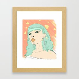 SUMMER DAZE Framed Art Print