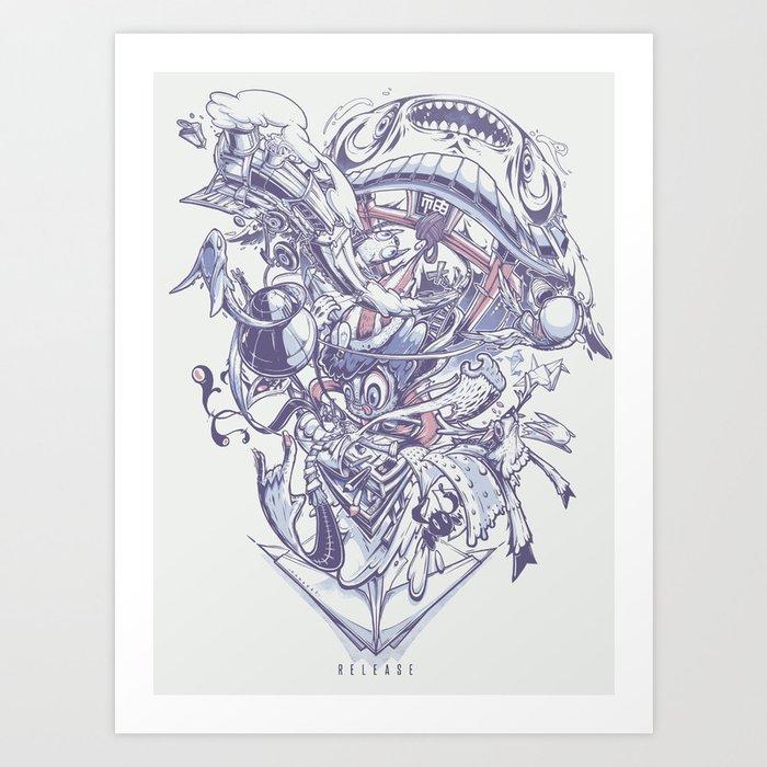 Release Art Print