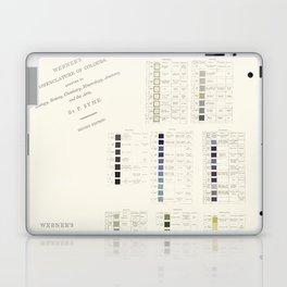 Werner's nomenclature of colour Laptop & iPad Skin