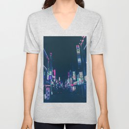 Seoul Nights Unisex V-Neck