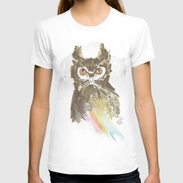 Experimental Media Owl T-shirt