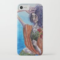 mirror iPhone & iPod Cases featuring Mirror by Katy Dai