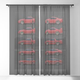 Supra Generations Sheer Curtain