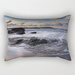 Trevone Bay, Cornwall, England, United Kingdom Rectangular Pillow