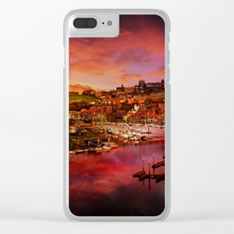 Whitby Port Clear iPhone Case