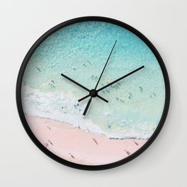Beach Sunday Wall Clock