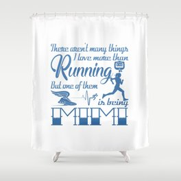 Running Mimi Shower Curtain
