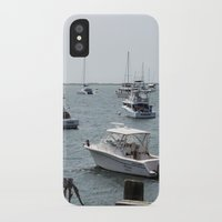 boats iPhone & iPod Cases featuring Boats by Kim Hawley