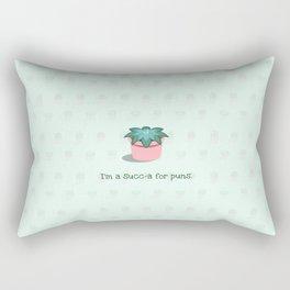 I'm a Succ-a for Puns Rectangular Pillow