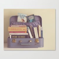 reading Canvas Prints featuring reading by Life Through the Lens