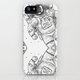 astro Traveller Retro iPhone Case