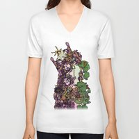 cycle V-neck T-shirts featuring Cycle by Anders Teigene