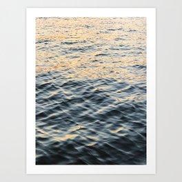 Water Texture Art Print