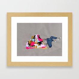 Everything must go Framed Art Print