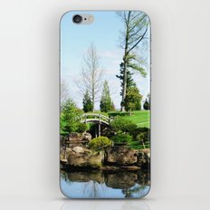 Bridge over untroubled waters iPhone & iPod Skin