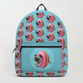 Donut Pug Backpack