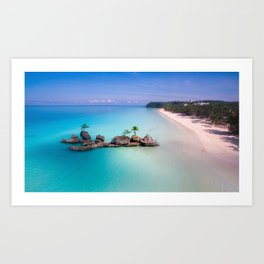 White Beach, Boracay Art Print