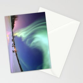 Northern Lights of Alaska Photograph Stationery Cards