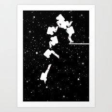 Astronaut Fancy Diving Art Print