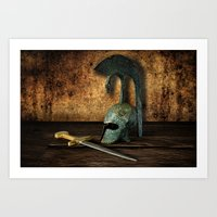 medieval Art Prints featuring Medieval by David gonzalez