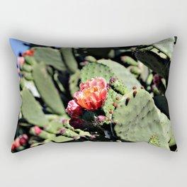 Cactus flowers Rectangular Pillow