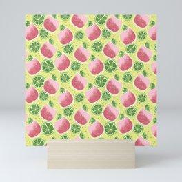 Watermelon Spritzer Pattern Mini Art Print