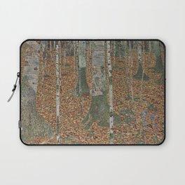 Gustav Klimt - Birch Forest Laptop Sleeve