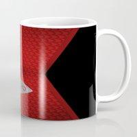 engineer Mugs featuring Star Trek Series - Engineer Suit by Roboz
