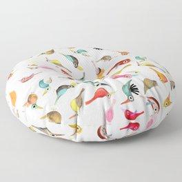 The Birds Floor Pillow